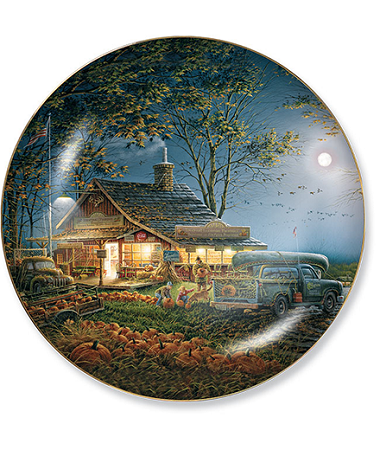 Seasons II Plate Series - Autumn Traditions