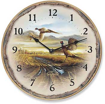 Wall Clock - Country Road