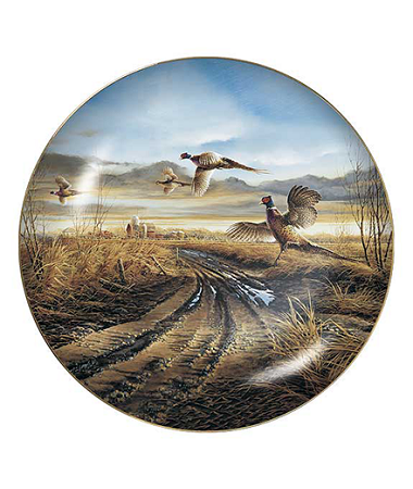 Upland Game Collectible Plate Series - Country Road