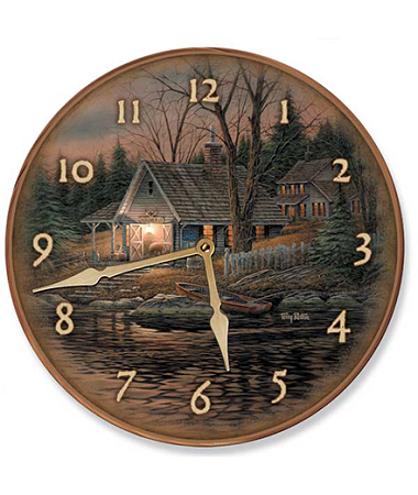 Wall Clock - Quiet of the Evening