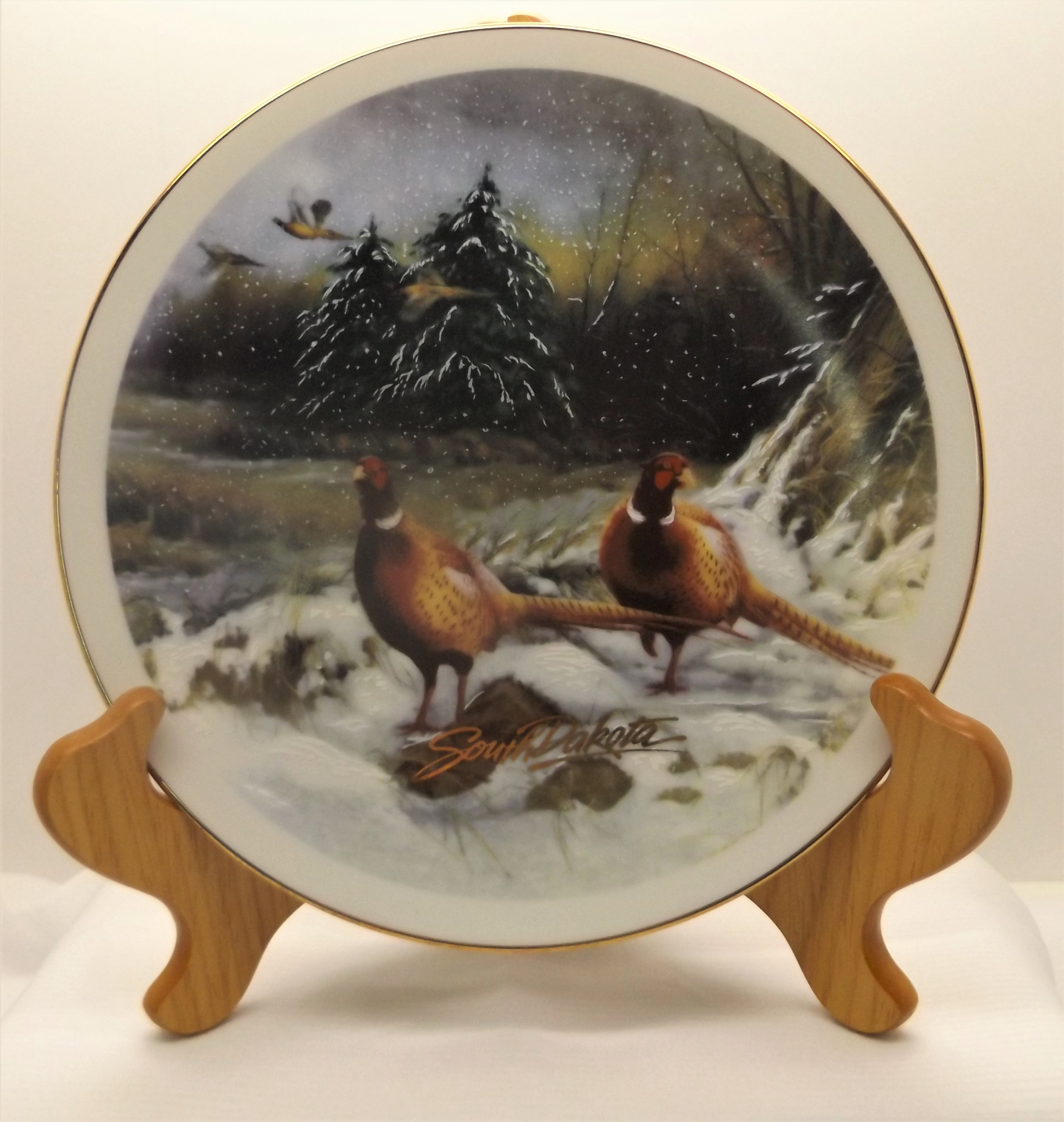 South Dakota Pheasant Plate