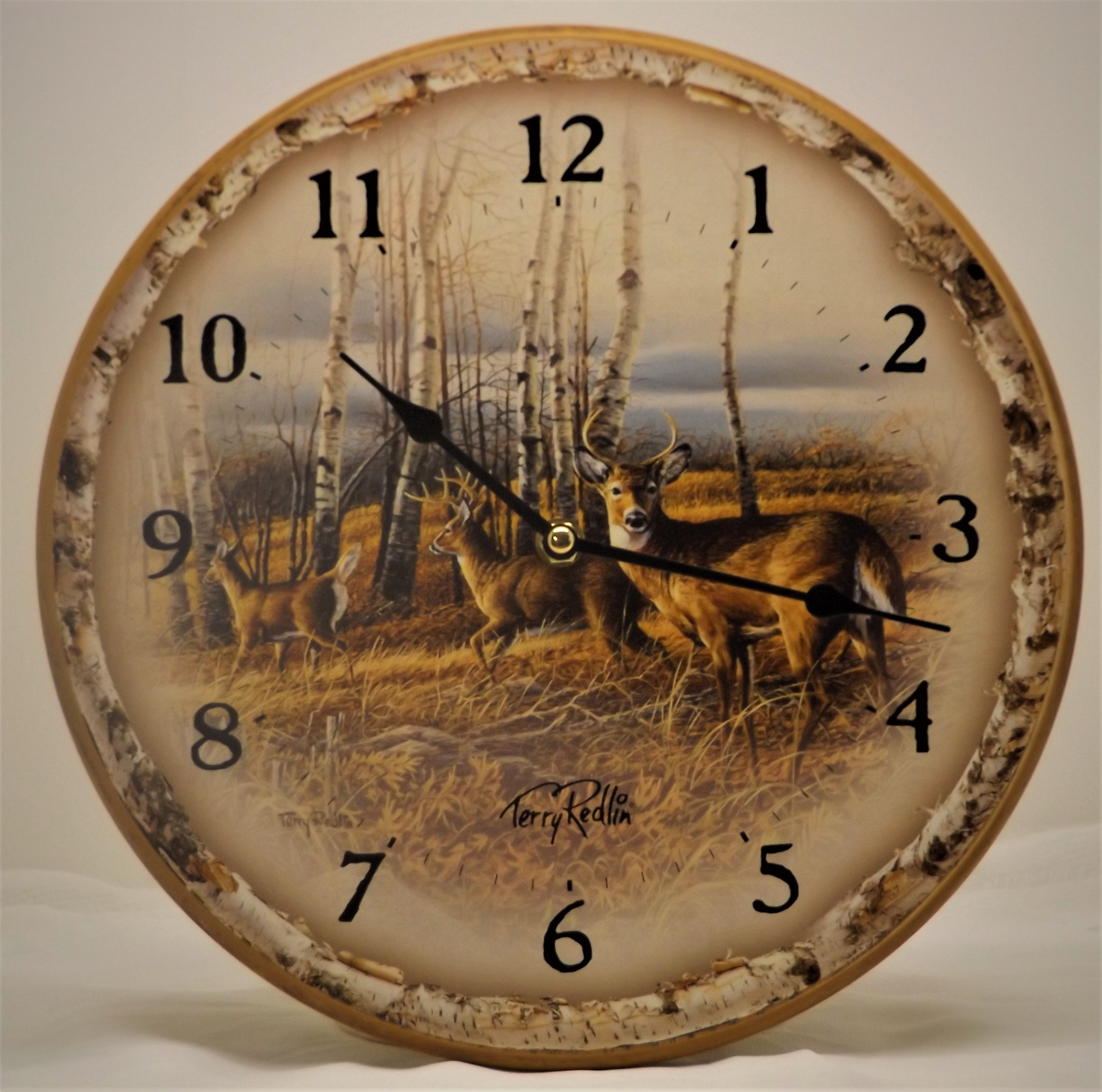 Wall Clock - The Birch Line