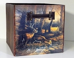 Terry Redlin Collapsible Storage Bin - Morning Glow