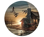 Terry Redlin Coasters - Golden Retreat