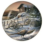 Upland Game Collectible Plate Series - Peaceful Evening