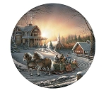 Terry Redlin Coasters - Pleasures of Winter