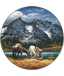 America the Beautiful Plate Series - For Purple Mountain Majesties