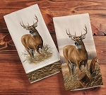 WHITETAIL DEER TEA TOWELS