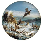 Upland Game Collectible Plate Series - Startled
