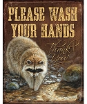 Tin Sign - Please Wash your Hands