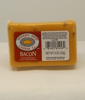 Wooden Shoe Bacon Flavored Cheese