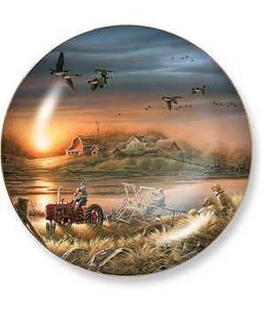 Harvest Series Plates - Patiently Waiting