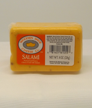 Wooden Shoe Salami Flavored Cheese
